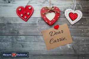 Heart of Dakota - Dear Carrie