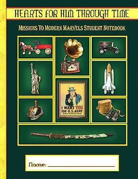 Missions to Modern Marvels Student Notebook Pages