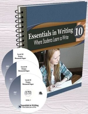 Essentials in Writing: Grade 10 (DVD & Pre-Printed SB)