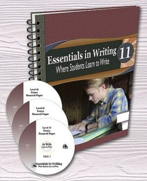 Essentials in Writing: Grade 11 (DVD & Pre-printed SB)