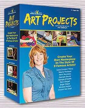 Art Projects: DVD Set (9 DVDs: 36 Art Sessions)