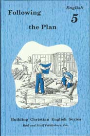 Following the Plan: English 5 Pupil Text