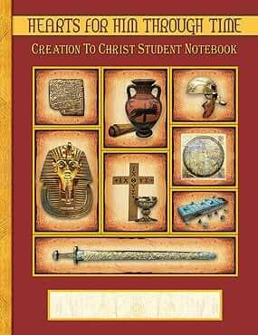Creation to Christ Student Notebook Pages