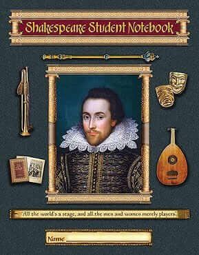 Shakespeare Student Notebook Pages