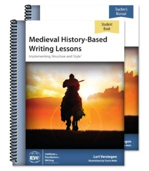 Medieval History-Based Writing Lessons: Teacher's Guide + Student Book