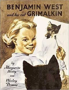 Benjamin West and His Cat Grimalkin