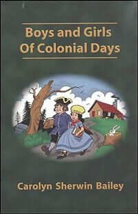 Boys and Girls of Colonial Days