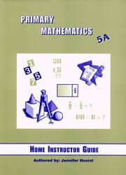 Singapore Primary Math Home Instructor's Guide: 5A