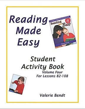 Reading Made Easy: Student Activity Book – Vol. 4