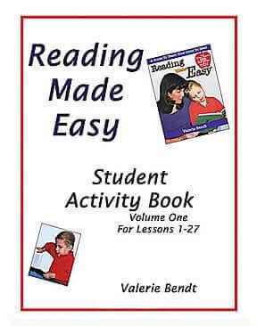 Reading Made Easy: Student Activity Book – Vol. 1