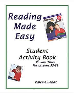 Reading Made Easy: Student Activity Book – Vol. 3