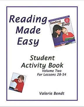 Reading Made Easy: Student Activity Book – Vol. 2