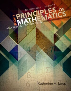 Principles of Mathematics: Book 1 Student Text