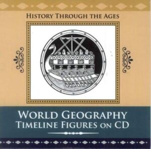 World Geography Timeline Figures (Printable CD)