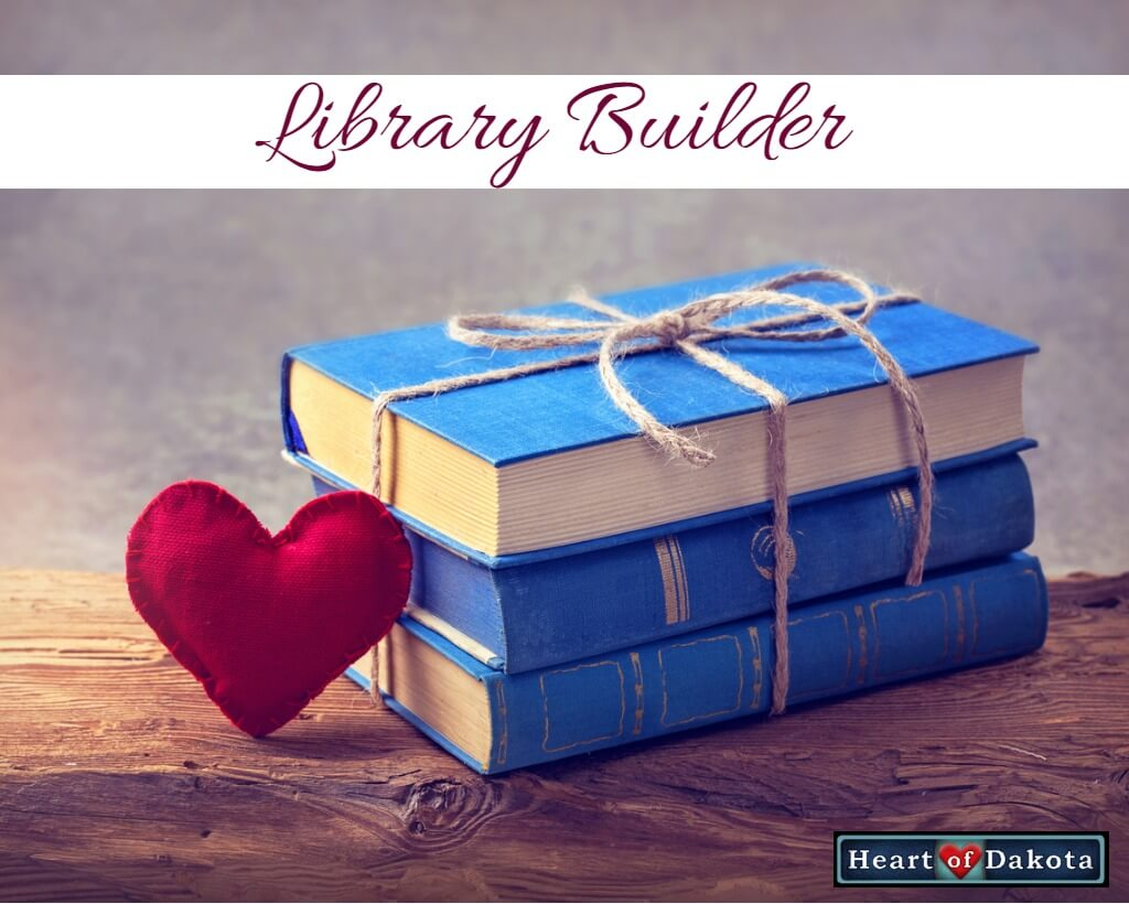 Heart of Dakota - Library Builder - Drawn into the Heart of Reading Level 3 book pack