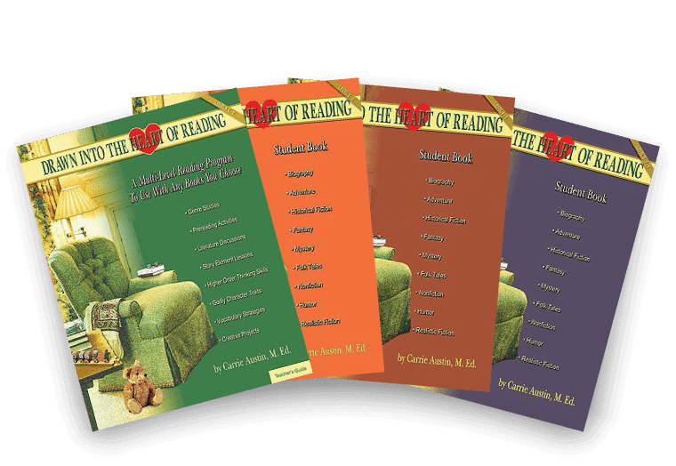 Drawn into the Heart of Reading: For Grades 2-8