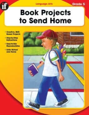 Book Projects to Send Home: Grade 5