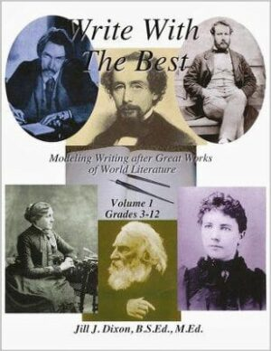 Write With the Best: Modeling Writing After Great Works of World Literature – Vol. 1