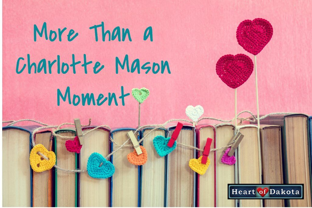Heart of Dakota - More Than A Charlotte Mason Moment