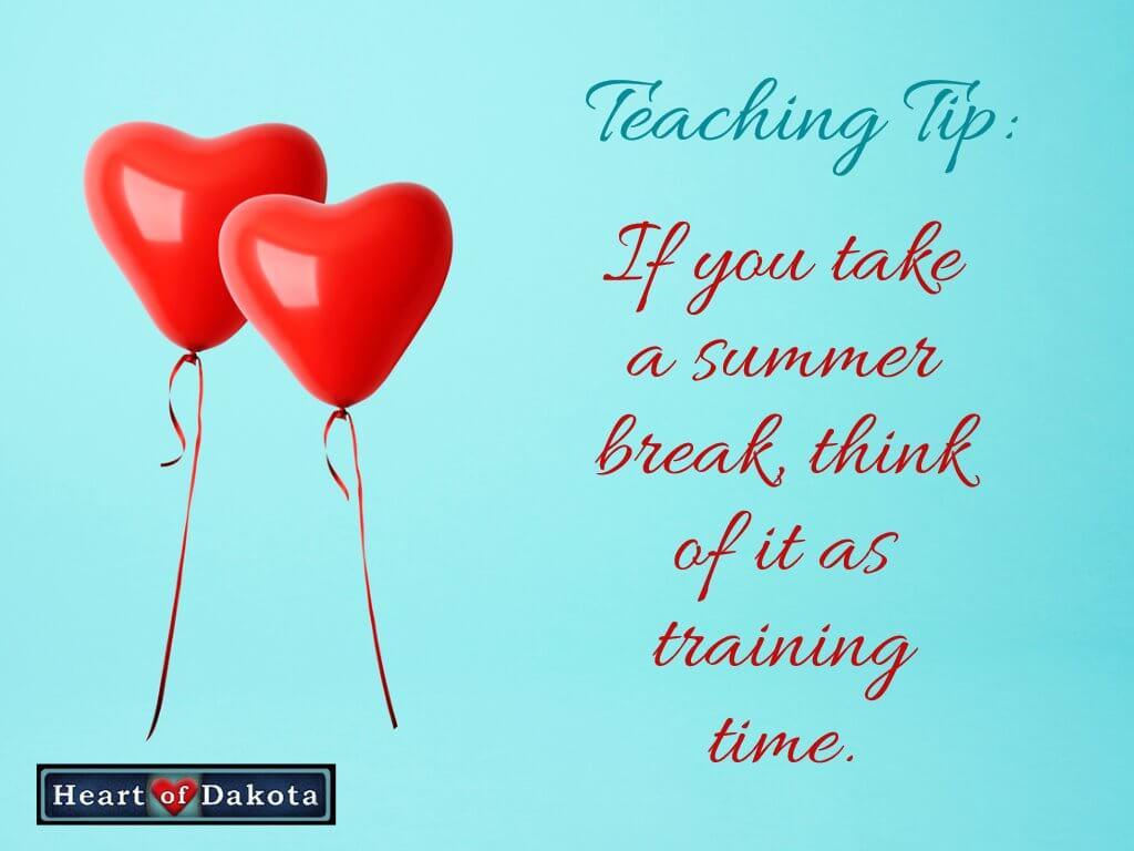 Train Your Children During Extended Break Time!