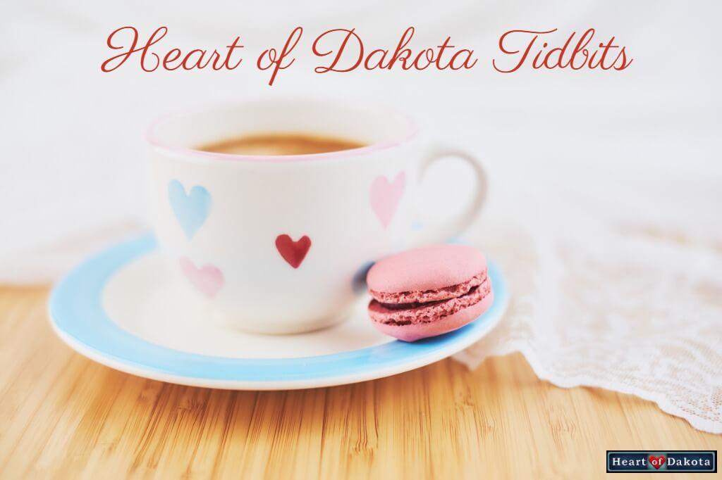 Heart of Dakota Tidbit From Our Warehouse to Your Doorstep