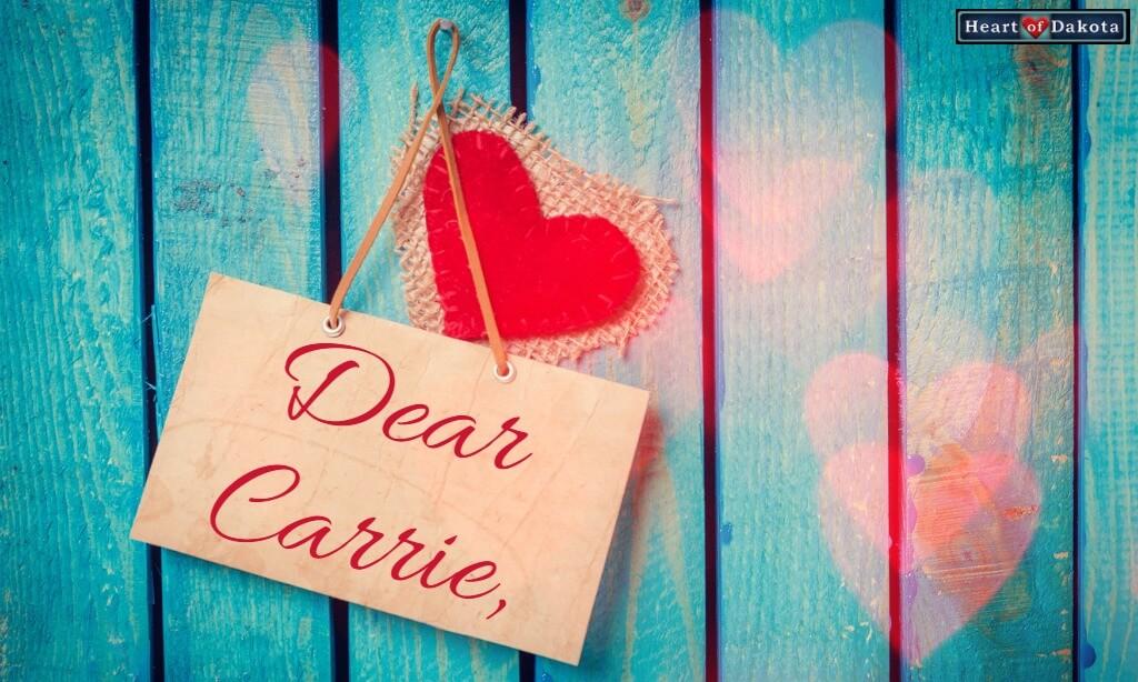 Heart of Dakota Dear Carrie Rhymes in Motion