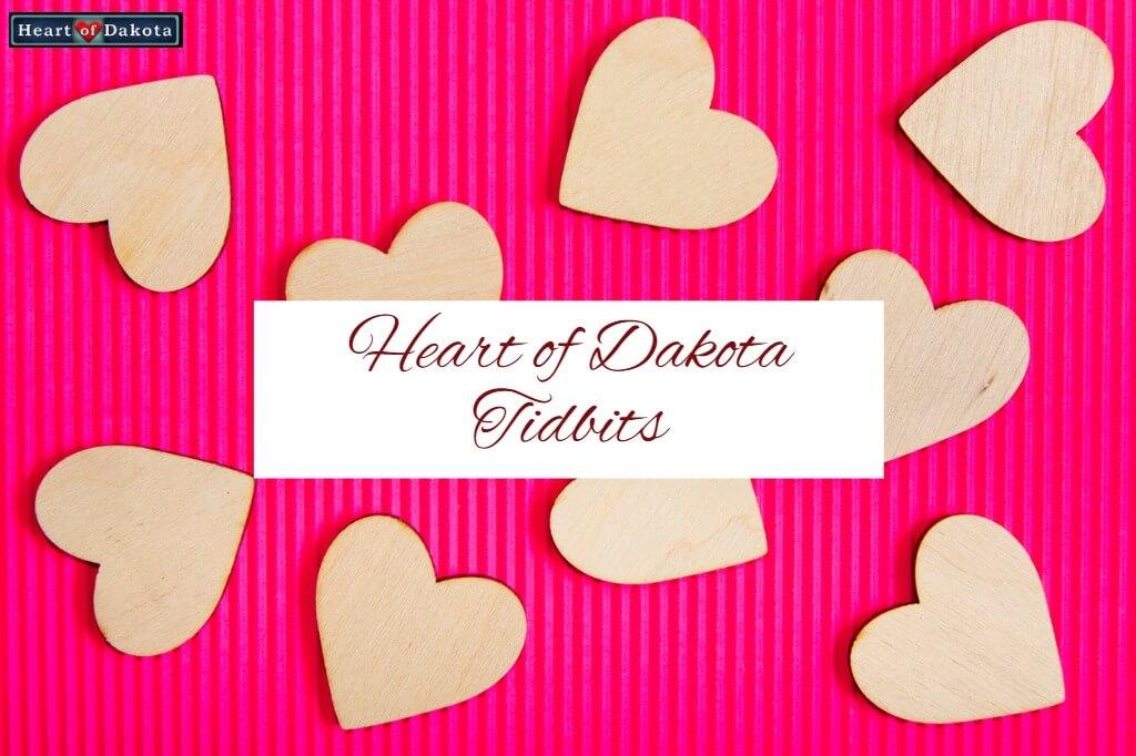 Heart of Dakota Tidbit No Spinning
