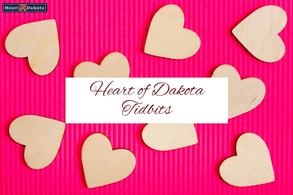Heart of Dakota Tidbit Conspicuous by Absence