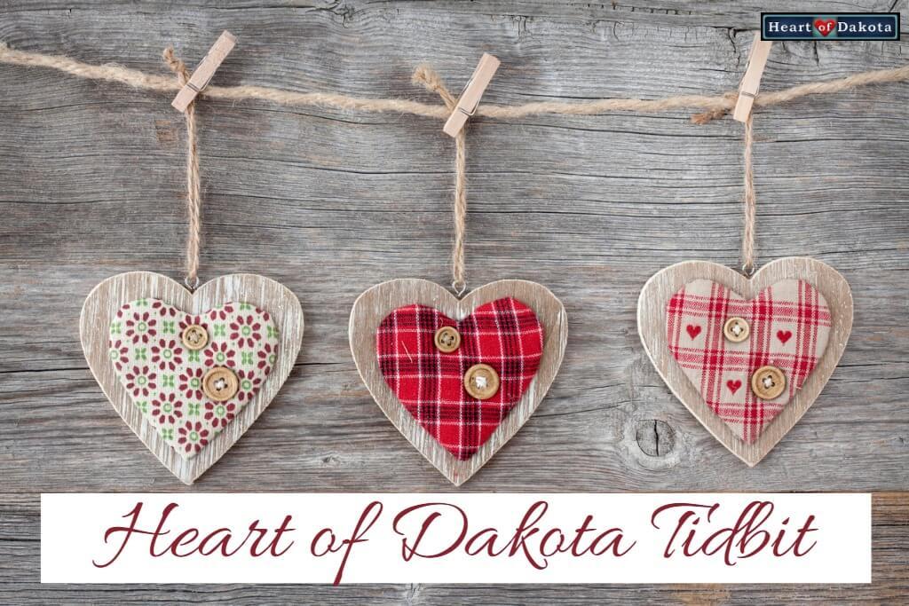Heart of Dakota Tidbit Freedom to Explore