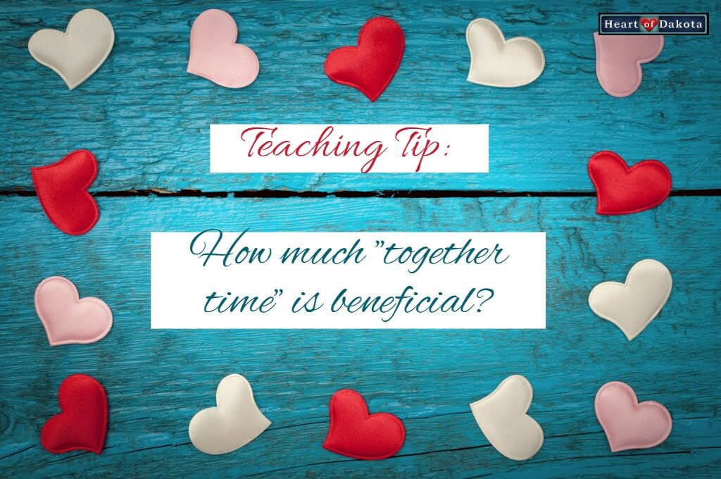 """How much """"together time"""" is beneficial?"""