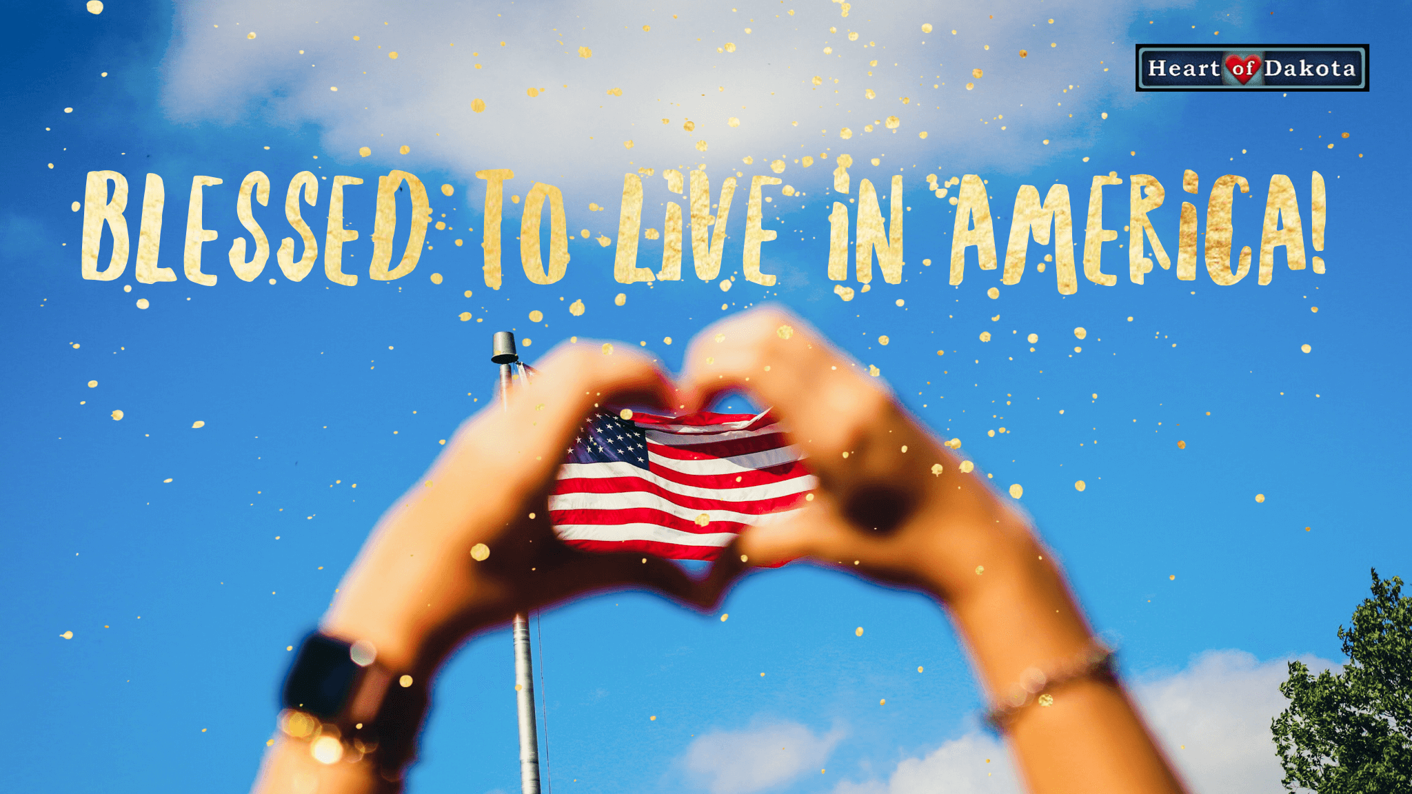 We are blessed to live in America!