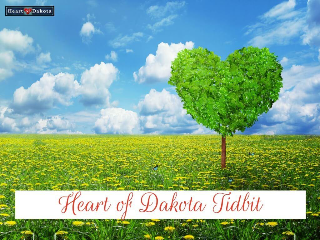 Heart of Dakota Tidbit