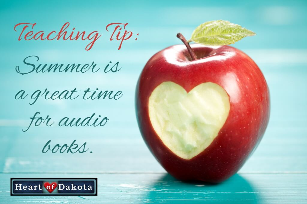 Summer is a great time for audio books!