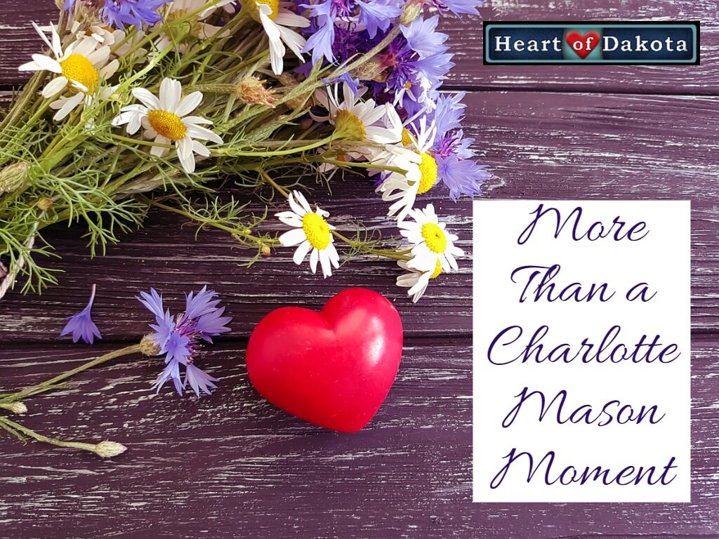 Heart of Dakota - More than a Charlotte Mason Moment