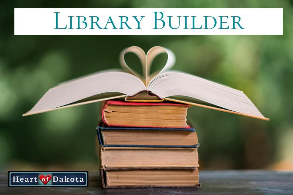 Heart of Dakota Library Builder - Drawn into the Heart of Reading Level 2 book pack.