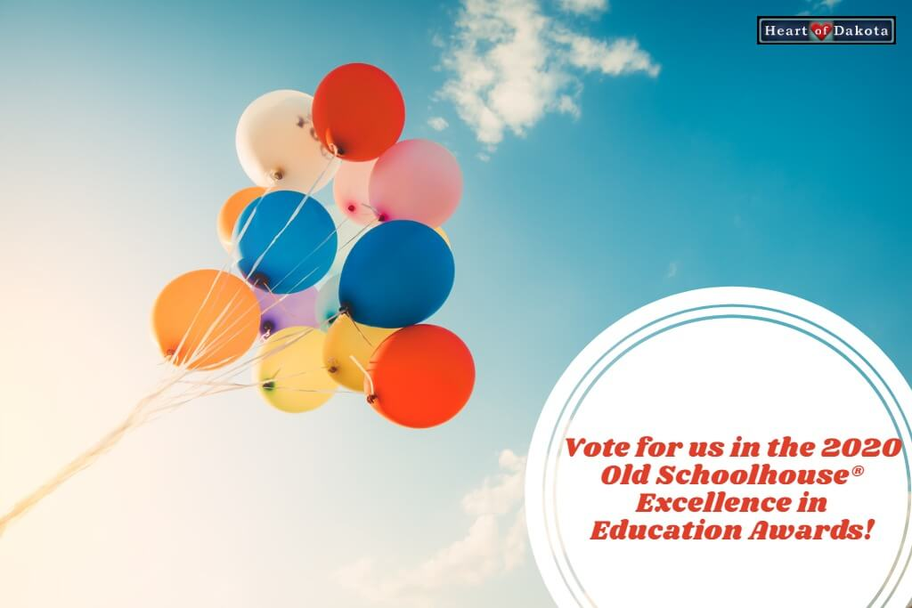 We want your vote in the 2020 Old Schoolhouse Magazine® Excellence in Education Awards!