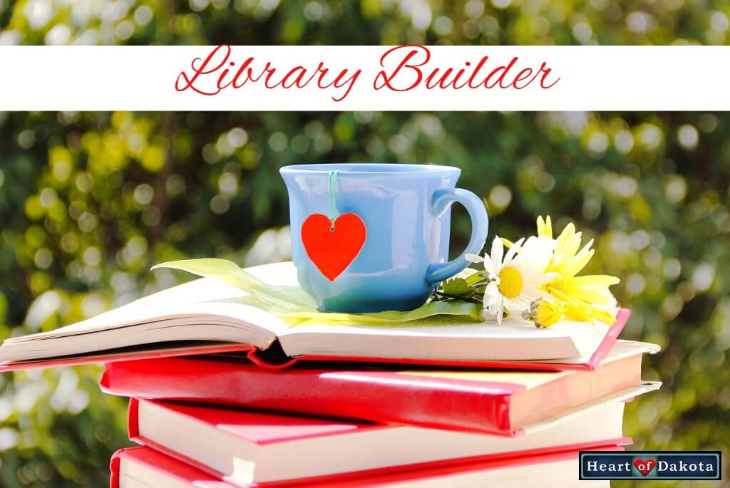 Heart of Dakota - Library Builder - June - Level 2 Book Pack - Drawn into the Heart of Reading