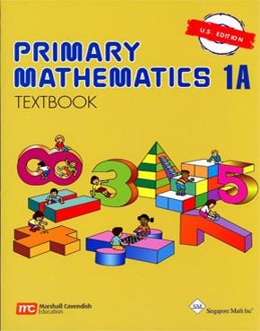 Singapore Primary Math: 1A Textbook