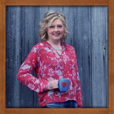 Julie Grosz Wood Frame